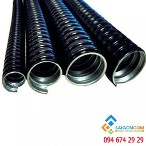 Ống Kẽm đàn hồi  Bọc Nhựa - phi 3-8 - ID13- OD16 - cuộn 50m