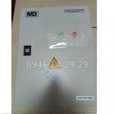 Tủ cắt lọc sét nguồn điện 1P 240-400Vac, dòng tải 63A,  thoát sét 125kA/pha
