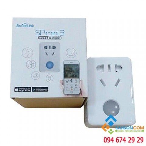 Ổ cắm thông minh wifi BroadLink SPmini kết nối qua Wifi SP mini 3