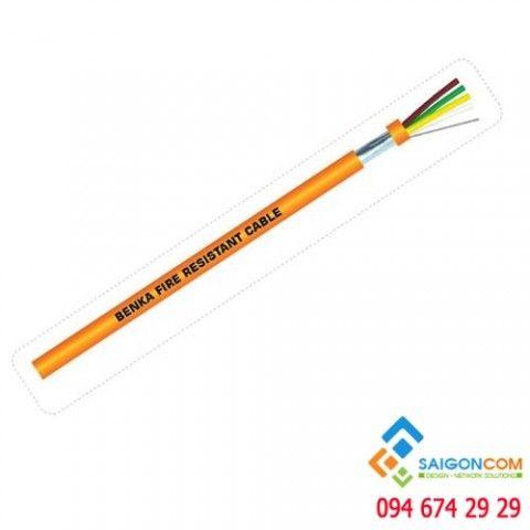 Cáp tín hiệu báo cháy, CU/PVC 2x1.0mm2 - 2361210-ER