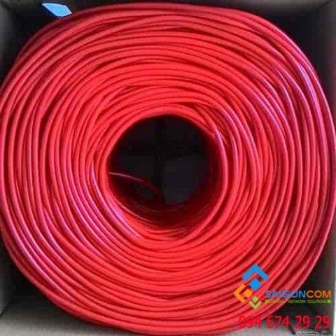 Cáp mạng Aipoo Link SFTP CCA CAT 5E Hợp Kim, 24AWG 0.511m, PVC, chống nhiễu