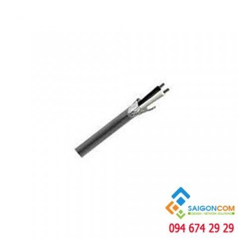 Cáp tín hiệu cảnh báo cháy, chống nhiễu Belden, UTP, lõi bện, UTP, AWG14-2C (2x2.5 mm2), 305m/Cuộn