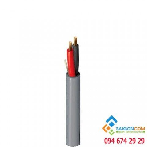 Cáp tín hiệu, không chống nhiễu Belden, UTP, lõi bện, AWG18-2C (2x0.75 mm2), 305m/Cuộn