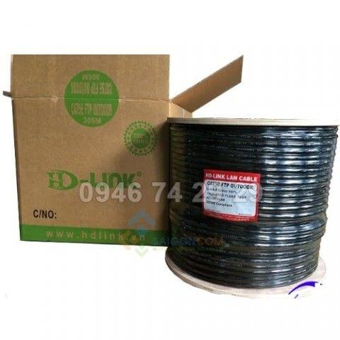 Cáp mạng HD-Link Cat5e Copper Outdoor FTP – Cáp mạng đi ngoài trời