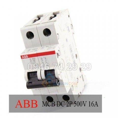 MCB DC 2P 500V 16A(BBC)