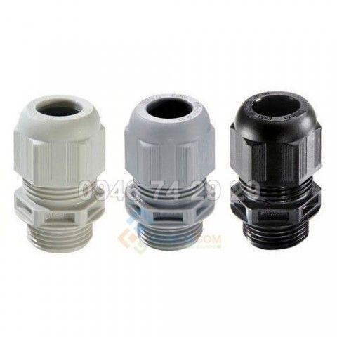 Ốc siết cáp nhựa PG 11 (Ø18) (dây cáp: 5-10mm)