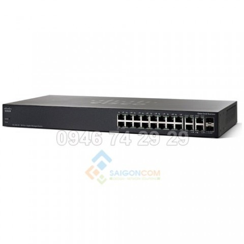Switch  Cisco SG350-20-K9-EU Managed Switch 16 port