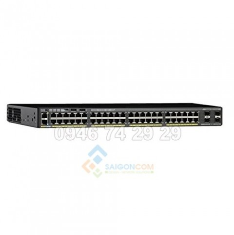 Switch Cisco Catalyst WS-C2960X-48LPS-L 48 Port Ethernet Switch with 370 Watt PoE