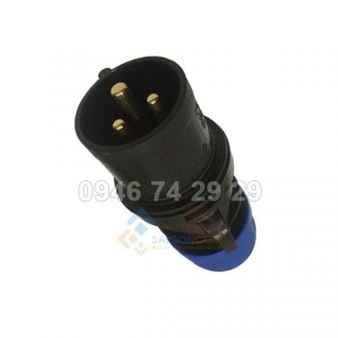 Phích cắm 16A - 3P - 230V - 6H - IP44 (F013-6ECO)