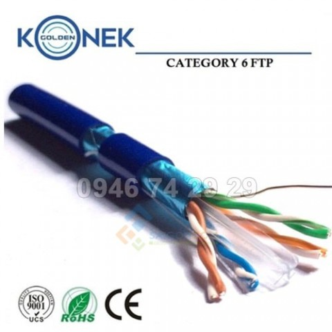 Cáp Golden Konek  FTP Cat6e