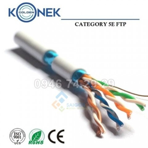 Cáp Golden Konek  FTP Cat5e