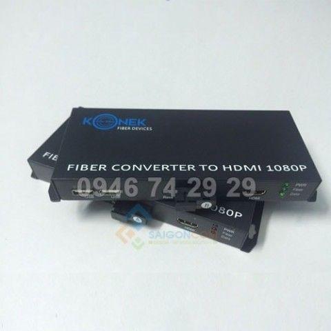 Bộ chuyển đổi quang to HDMI Golden Konek