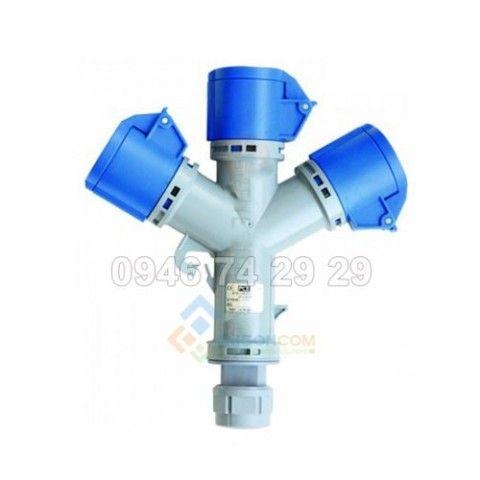 Ổ cắm nối chia 3 không kín nước 16A - 3P - 230V - 6H - IP44-F9432006