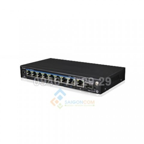 Switch Ionnet 8 Ports Full Gigabit PoE , 802.3af/at, One Key CCTV, 6KV Lightning