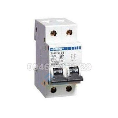 Attomat RCCB 2P 32A, 30mA SMB65L-32C32/2