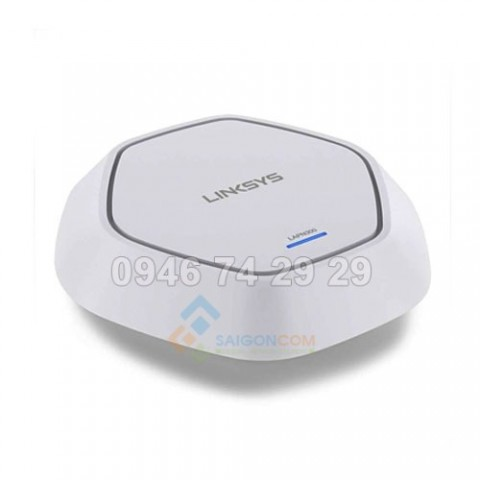Linksys business Access point, Dual Band (2.4GHz + 5Ghz). Chuẩn WiFi N,  tốc độ 600Mbps