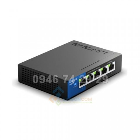 Linksys LGS105 5-Port Business Desktop Gigabit Switch 10/100/1000Mbps