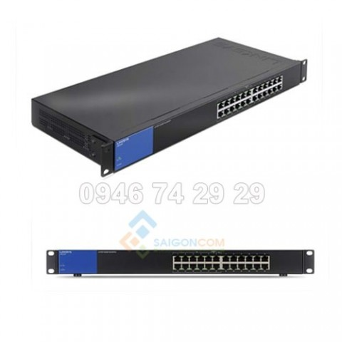 Linksys LGS124 24-Port Business Gigabit