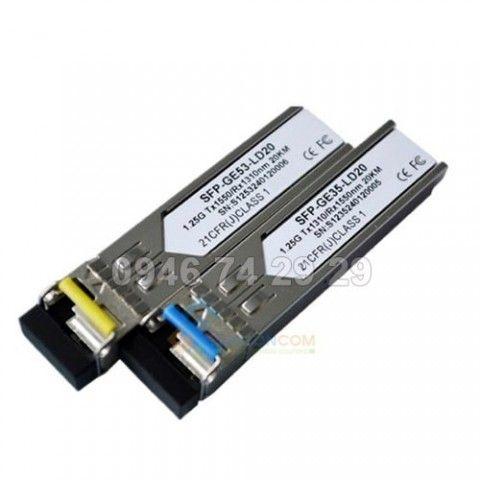 Module quang SFP 1.25G RX 1550 Đầu LC