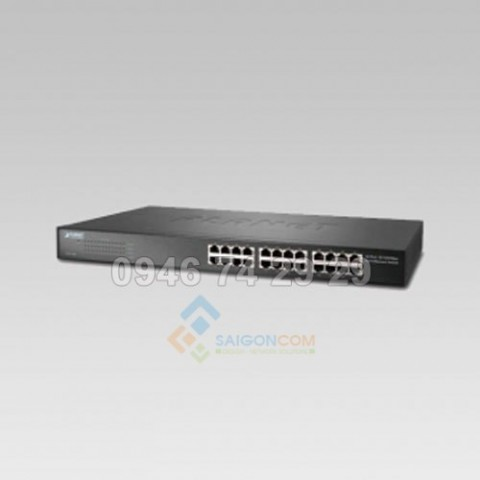 Switch Planet 24-Port 10/100Mbps Fast Ethernet