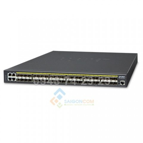 Switch Planet L2+/L4 48-Port 10/100/1000Mbps with 4 Shared SFP + 4-Port 10G SFP+