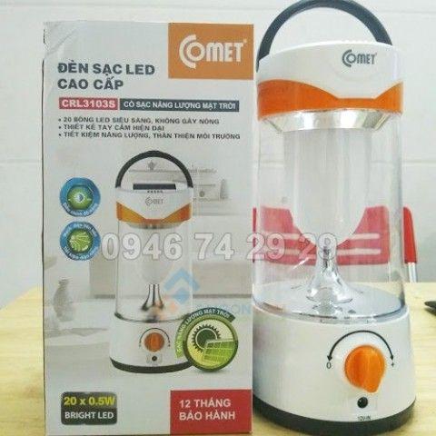 Đèn Sạc LED Cao Cấp COMET CRL3103S 10W