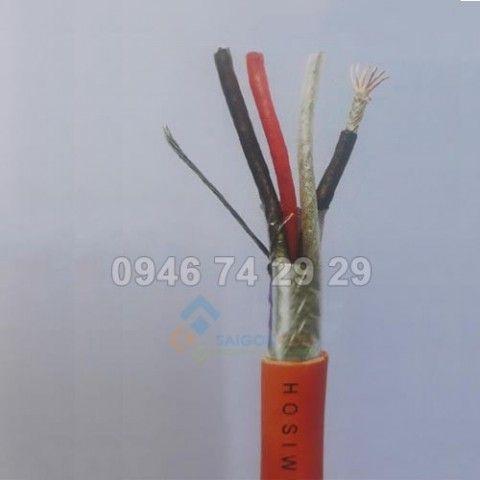 Cáp Hosiwel tín hiệu chống cháy 2Pair x 2.5 mm² 500m/cuộn