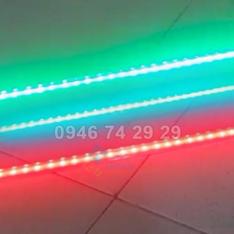 Đèn led dây 1m có 3 màu và điều chỉnh màu sắc