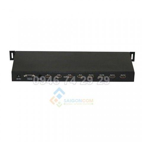HDMI matrix 4 đầu vào và 4 đầu ra có công RS232