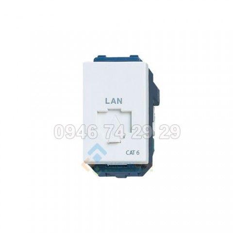 Ổ Cắm mạng LAN  nhân mạng RJ45 - CAT6- Panasonic WEG2488 / WEG2488SW