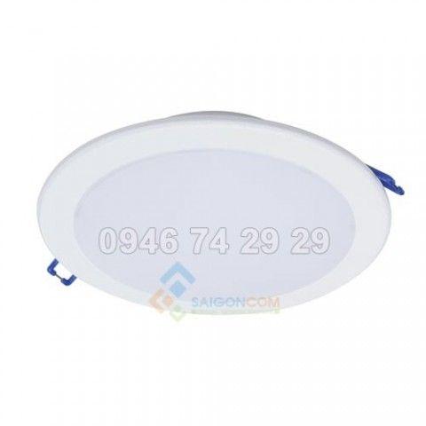 Đèn led ốp trần philips 9W 30K/40k/65k WH recessed D MARCASITE 100