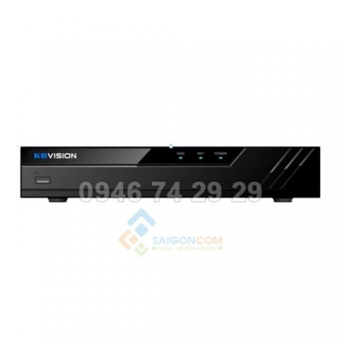 Đầu ghi hình camera IP 8 kênh KBVISION KX-4K8108PN2