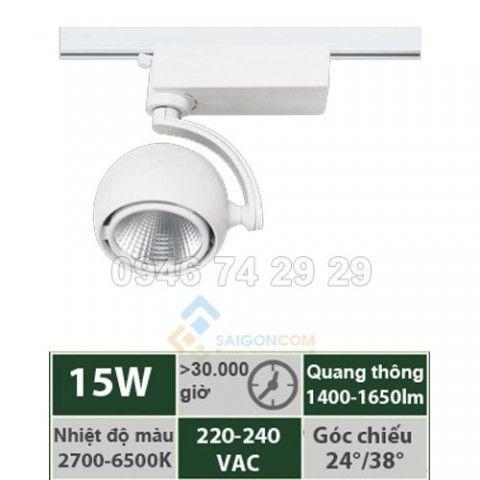 Đèn led thanh ray TR-HW15/TR-HB15 15w Vinaled