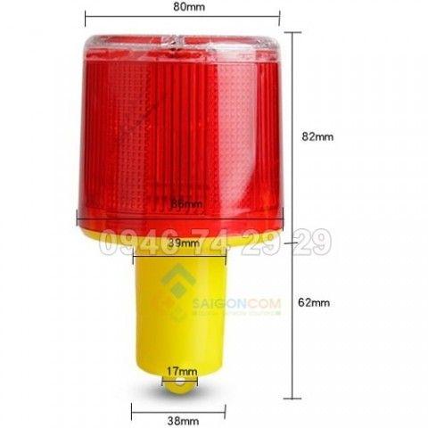 Đèn báo công trình sự dụng năng lượng mặt trời