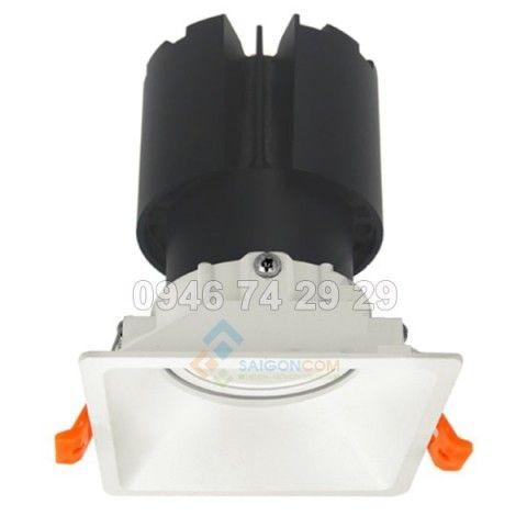 Đèn âm trần 1x10W mẫu F8 Vinaled