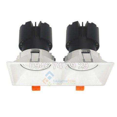 Đèn âm trần 2x15W mẫu F9 Vinaled