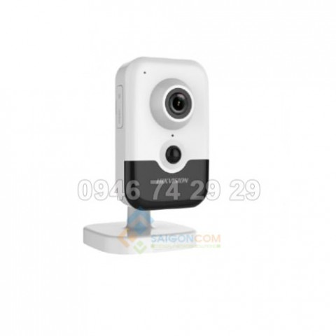 Camera cube Hikvision DS-2CD2463G0-IW IP 6.0MP, hồng ngoại 10m H.265+