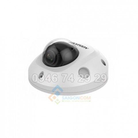 Camera bán cầu mini Hikvision DS-2CD2523G0-I IP 2.0MP Hồng ngoại 10m H.265+