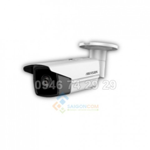 Camera thân ống Hikvision DS-2CD2T25FHWD-I8 IP 2.0MP Hồng ngoại 80m H.265+