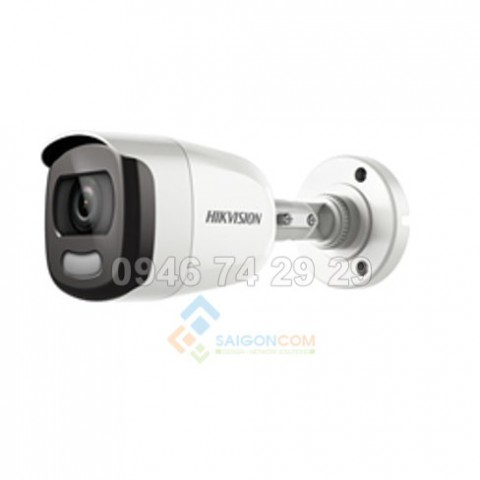 Camera thân ống Hikvision DS-2CE10DFT-F 2.0MP hồng ngoại 20m