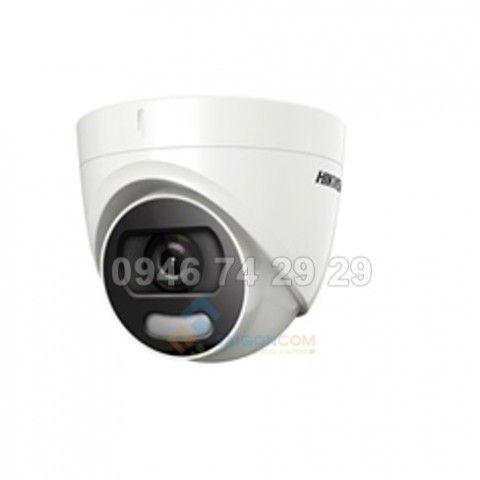 Camera bán cầu Hikvision DS-2CE72DFT-F 2.0MP hồng ngoại 20m
