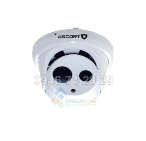 Camera Escort dome TVI hồng ngoại Led ARRAY (vỏ nhựa) ESC-04TV 3.0Mp