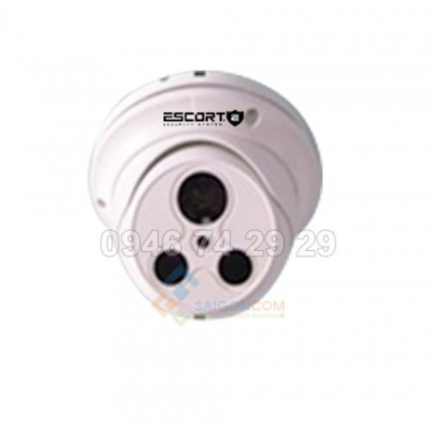 Camera Escort IP DOME hồng ngoại Led ARRAY (vỏ sắt) ESC-5003ND 5.0MP