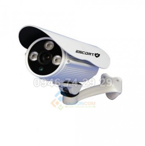 Camera Escort thân TVI hồng ngoại Led ARRAY (Vỏ Sắt) ESC-405TVI 1.3M.p