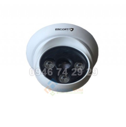 Camera Escort IP DOME hồng ngoại Led ARRAY (vỏ sắt) ESC-A5110ND 1.0MP