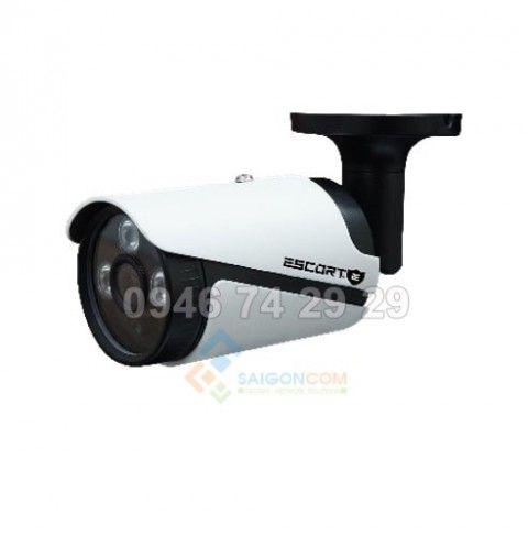 Camera Escort HD-TVI Thân  hồng ngoại Led ARRAY (Vỏ Sắt ) ESC-605TVI 1.3M.p