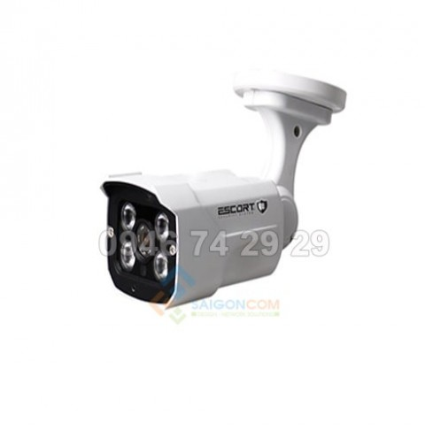 Camera Escort IP DOME hồng ngoại Led ARRAY (vỏ sắt) ESC-2002NT 2.0MP