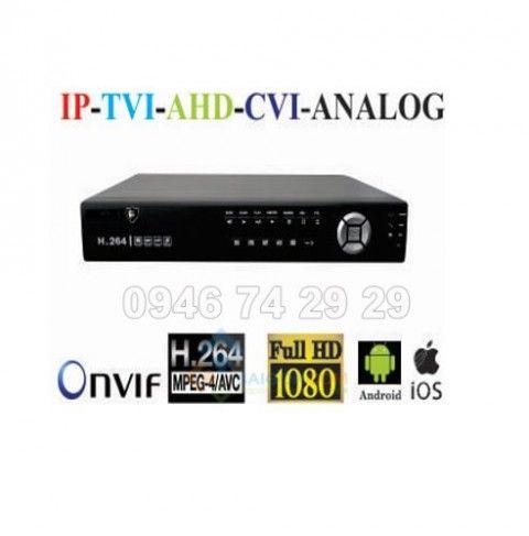 Đầu ghi hình Escort 16 kênh 5 in 1 xuất hình Full HD 1080P ESC-6816