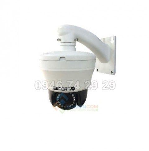 Camera Escort ESC-IP806M 1.3 Speed dome IP  thế hệ mới hồng ngoại led IR Zoom quang 10X. 1.3 Megapixel