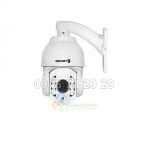 Camera Escort ESC-IP806N 2.0 Speed dome IP  thế hệ mới hồng ngoại Led Array Zoom quang 10X, 2.0Megapixel